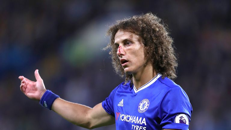 David Luiz likely to face Arsenal's array of attackers