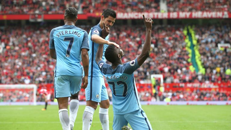 Kelechi Iheanacho gave the visitors a 2-0 lead at Old Trafford