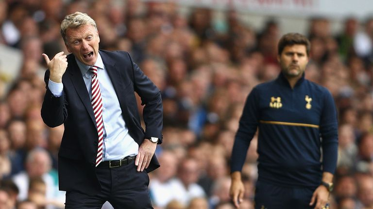 David Moyes is still waiting on his first Premier League win since being appointed as Sunderland's manager