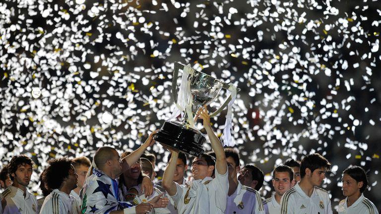 Resultado de imagen para real madrid la liga winners