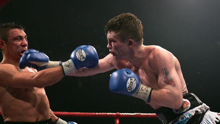Hatton forced Kostya Tszyu to retire after 11 thrilling rounds in 2005