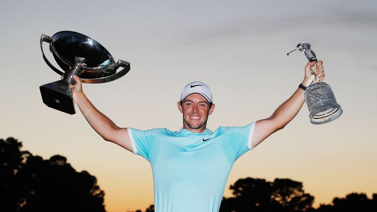 McIlroy is making his first tournament appearance in the US since winning the FedExCup last September