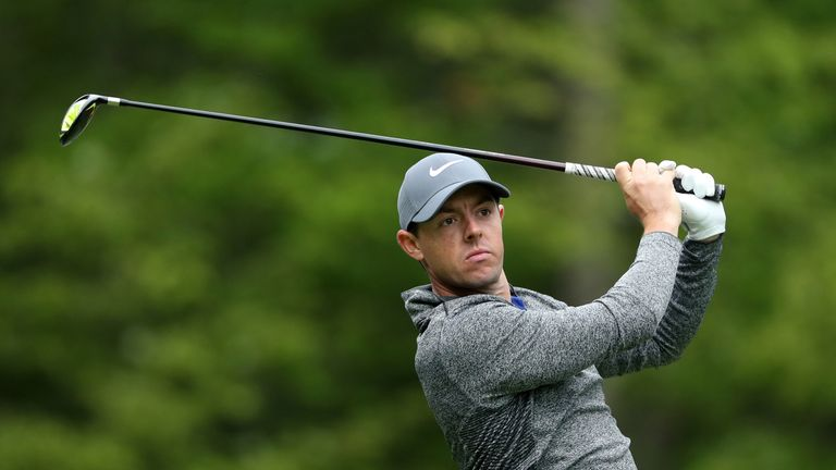 Rory McIlroy hit one of the best five-woods of his career to seal victory at the K Club