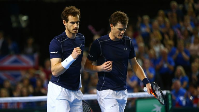 Murray to play singles, doubles for Britain in Davis Cup
