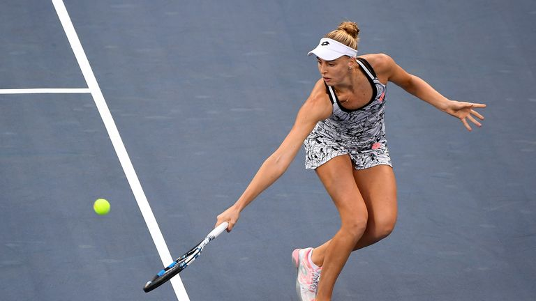 Radwanska cuts down Broady to reach US Open third round