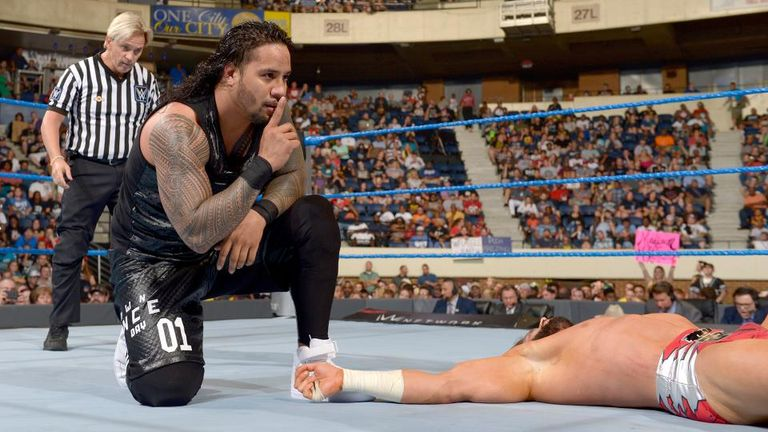 The Usos were unable to win the Smackdown Tag Team Titles