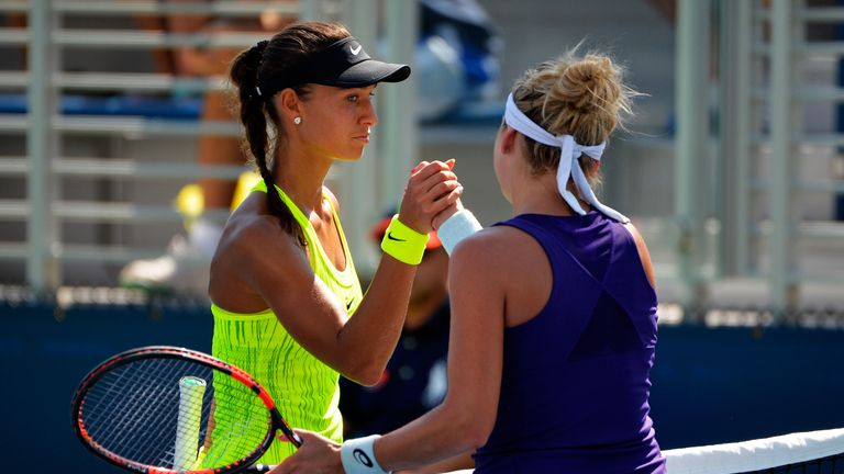 US Open women's match in betting alert