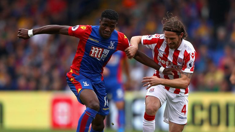 Paul Merson believes Wilfried Zaha could punish Sunderland at the Stadium of Light