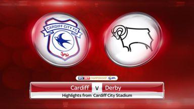 Cardiff 0-2 Derby