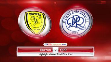 Burton 1-1 QPR