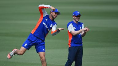 England ODI captain Eoin Morgan (R) and Alex Hales are likely to tour India