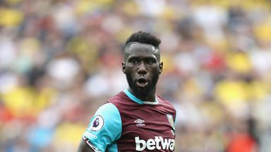Arthur Masuaku joined West Ham from Olympiakos over the summer