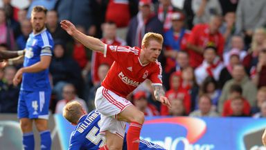 Chris Burke has joined Ross County after leaving Nottingham Forest in the summer