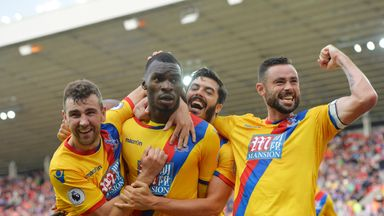 Christian Benteke scored a last-minute winner to give Palace all three points at Sunderland