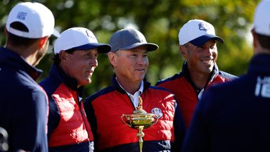 Phil Mickelson is impressed with how Davis Love III has overseen preparations for Hazeltine