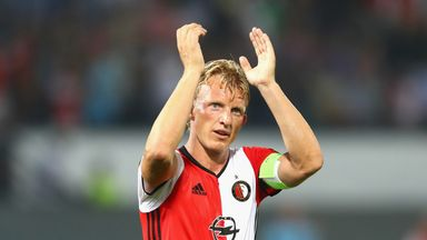 Dirk Kuyt's  Feyenoord lead the way in the Eredivisie