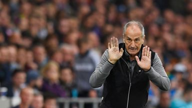 Francesco Guidolin was proud of his players' efforts