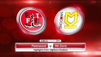 Fleetwood 1-4 MK Dons