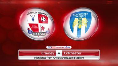 Crawley 1-1 Colchester