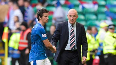 Joey Barton has been suspended by Rangers boss Mark Warburton