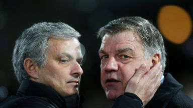Jose Mourinho says he has sympathy for Sam Allardyce