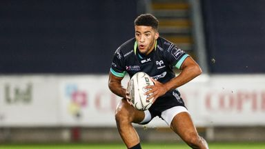 Keelan Giles starred for the Ospreys as they defeated Grenoble