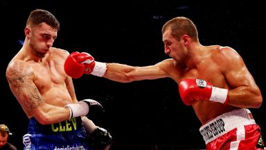 Nathan Cleverly shared the ring with Sergey Kovalev in 2013