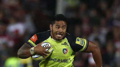 Leicester centre Manu Tuilagi's hopes of an England comeback have been put on hold due to groin problem