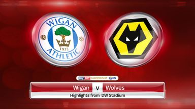 Wigan 2-1 Wolves