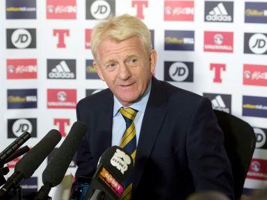Scotland manager Gordon Strachan needs a result at Wembley