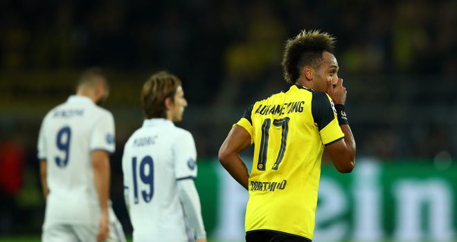 Borussia Dortmund star Aubameyang confirms Manchester City interest over transfer