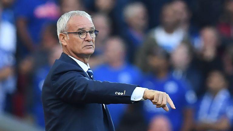 Claudio Ranieri is looking towards the Champions League
