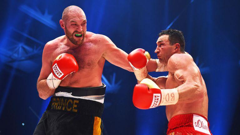 Fury's last fight was against Wladimir Klitschko in November 2015