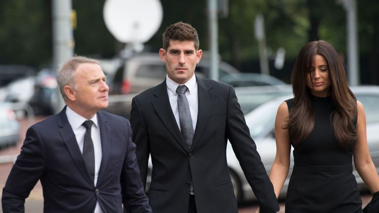 ched evans Ched evans, the footballer, who fought a four-year legal battle to clear his name after being convicted of rape, culminating in his acquittal of rape at a retrial.
