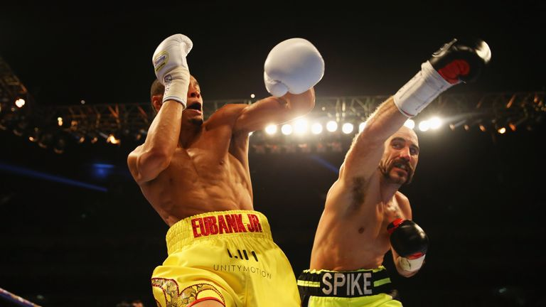 Gary O'Sullivan's two defeats came against Eubank Jr and Saunders