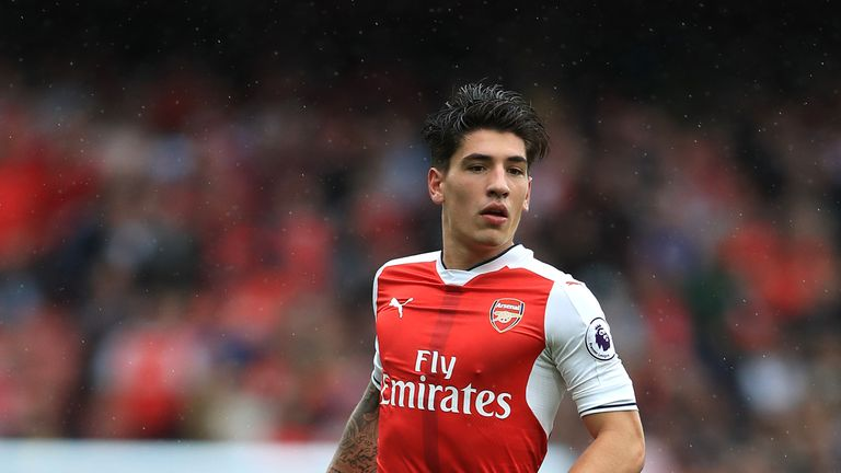 Arsenal's Hector Bellerin is of interest to Manchester City and Barcelona
