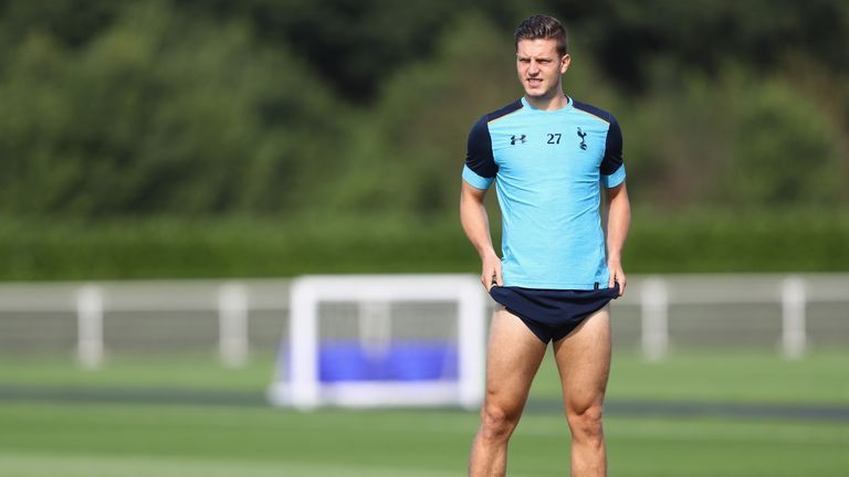 Wimmer 'down on expectations' after lack of Spurs game time