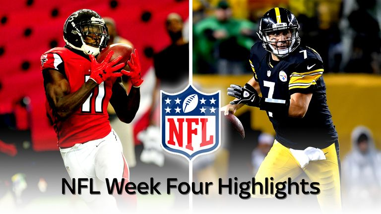 Highlights From Week Four In The Nfl Nfl News Sky Sports
