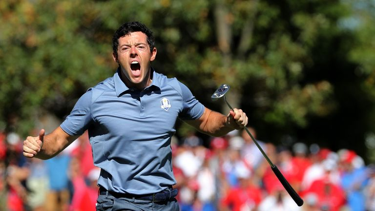 Rory McIlroy's passion for the Ryder Cup is undeniable