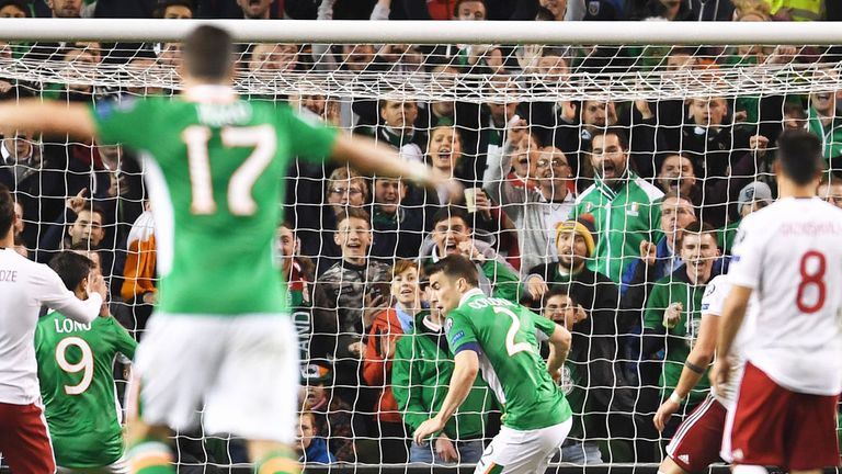 Coleman goal enough to secure Irish win