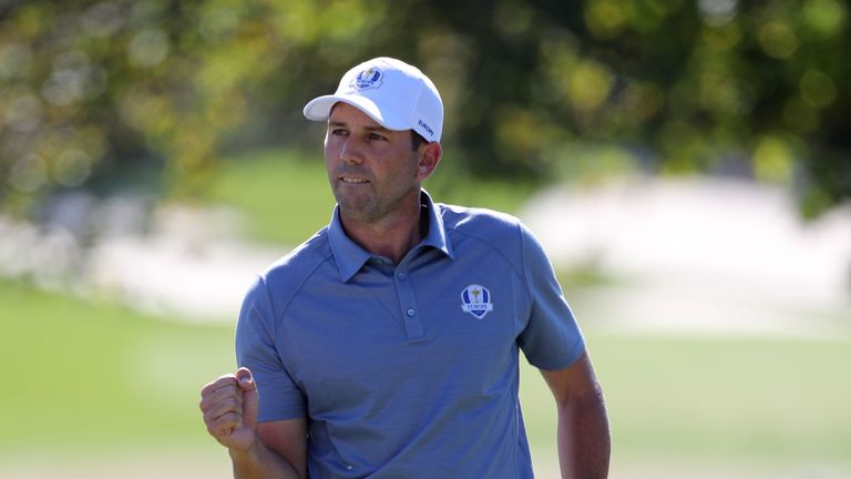 Sergio Garcia has been a key player for Europe since making his debut in 1999