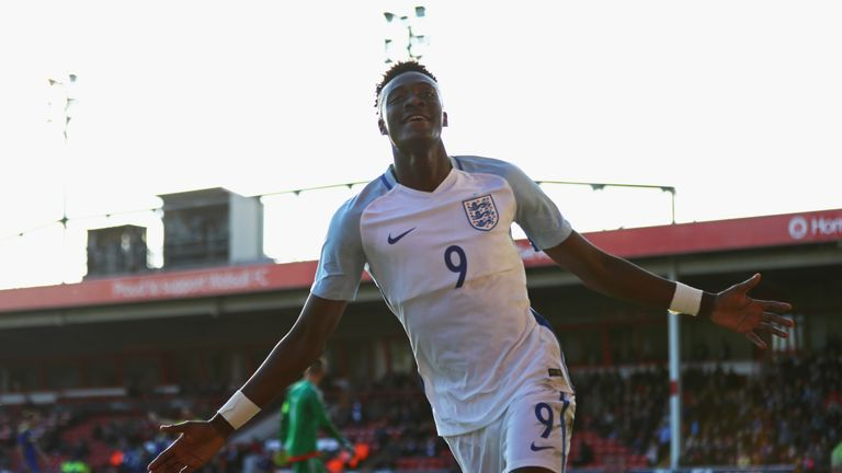 Tammy Abraham has confirmed he remains committed to England