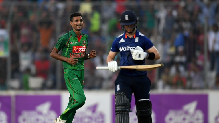 Shafiul Islam impressed for Bangladesh in the ODI series against England