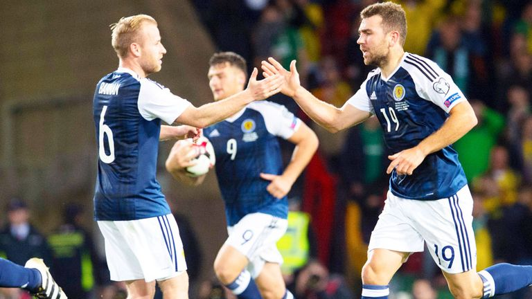 Scotland earned a 1-1 draw at home to Lithuania last October, with James McArthur equalising late on
