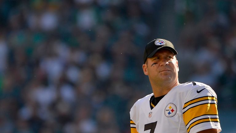 Ben Roethlisberger has been ruled out for the Pittsburgh Steelers this weekend