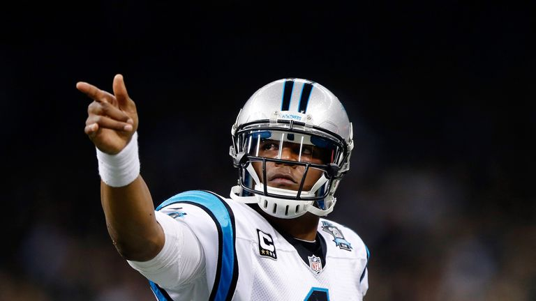 Cam Newton picked up a head injury against the Broncos in September