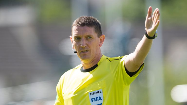 Craig Thomson in charge of second Betfred Cup semi-final at Hampden