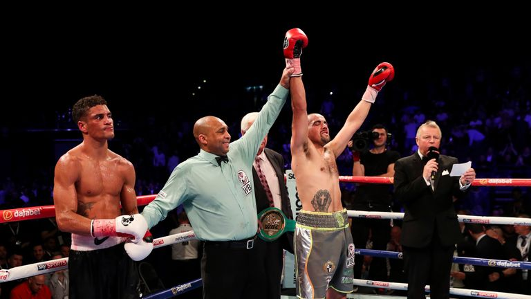 The 28-year-old is targeting a second fight with Cunningham