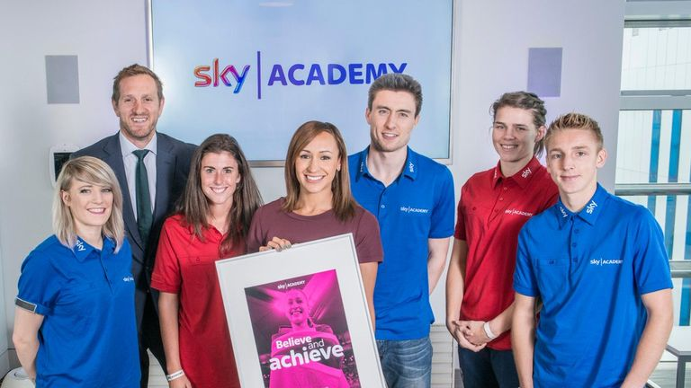 Our current Scholars got to meet athletics legend Jessica Ennis-Hill