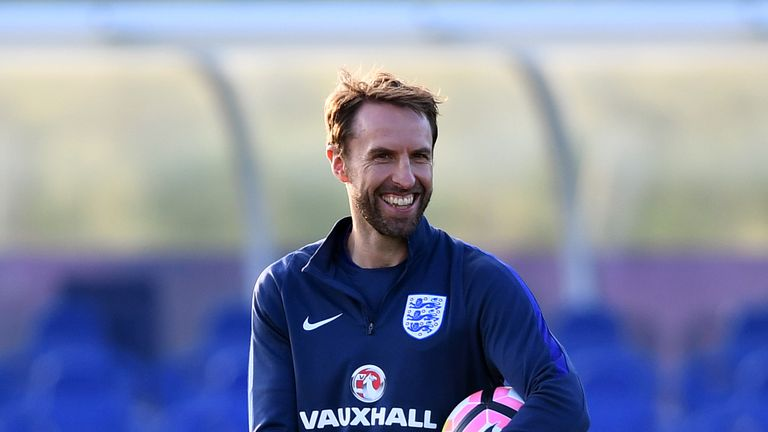 England manager Gareth Southgate has no fresh injury concerns